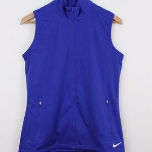 New Nike Shield Wind Womens Golf vest XS